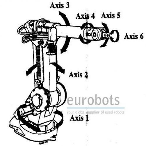 robo usado abb irb1400flexarc celula com 2 robos